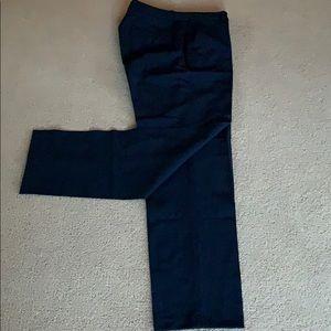 JCrew Navy wool pants